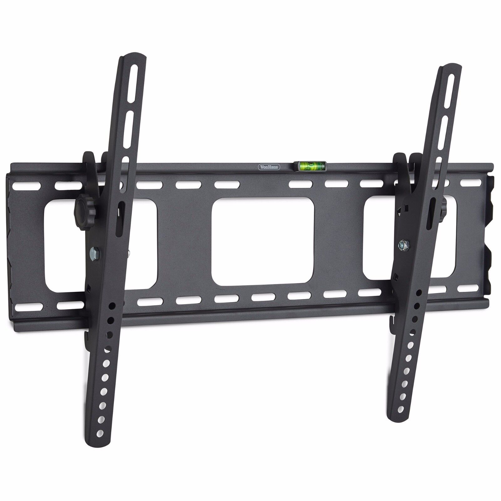 "VonHaus 32-70"" Tilt TV Wall Mount Bracket with Spirit Level & Locking Bar"