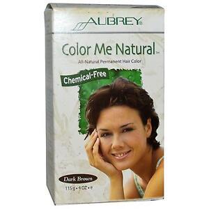 aubrey couleur me naturel brun fonce coloration cheveux - Coloration Cheveux Produits Naturels