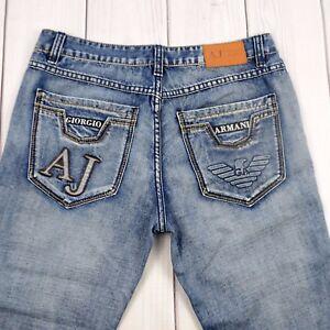 Armani-Jeans-Denim-Pants-Giorgio-Armani-Blue-Pants-Men-Size-36-x-32