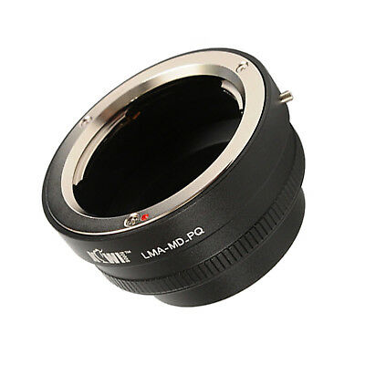 Lens Mount Adapter compatible Minolta MD - Pentax Q Mount Systemkamera