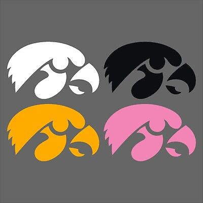 Pink White And Gold (Iowa Hawkeyes Decals Black Gold Pink White Free)