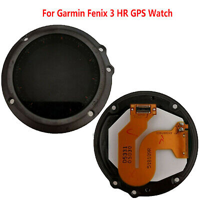 LCD Display Touch Screen Assembly Repair Parts For Garmin Fenix 3 HR GPS Watch