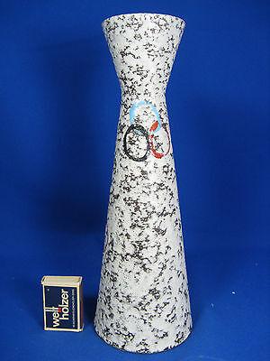 Unusual 60´s pottery vase / Schöne 60er Jahre Scheurich Keramik Vase 520  28