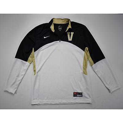 NIKE Women's Vanderbilt Shot Clock L/S Basketball Shirt MEDIUM NWOTD
