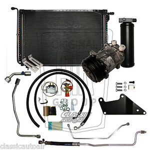 71 CHARGER 70-71 CHALLENGER BB AIR CONDITIONING UPGRADE KIT A/C AC 134a STAGE 2