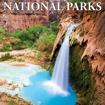 National Parks 2021 Wall Calendar (Free Shipping)