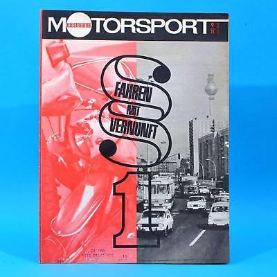 DDR Illustrierter Motorsport IMS 9 1973 Schleizer Dreieck GIOM Weltfestspiele T