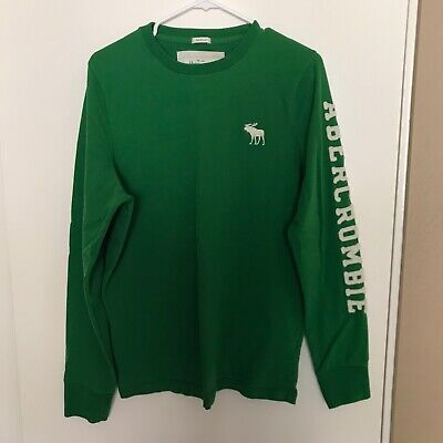 Mens Abercrombie & Fitch XXL Muscle Long Sleeve Light Sweater