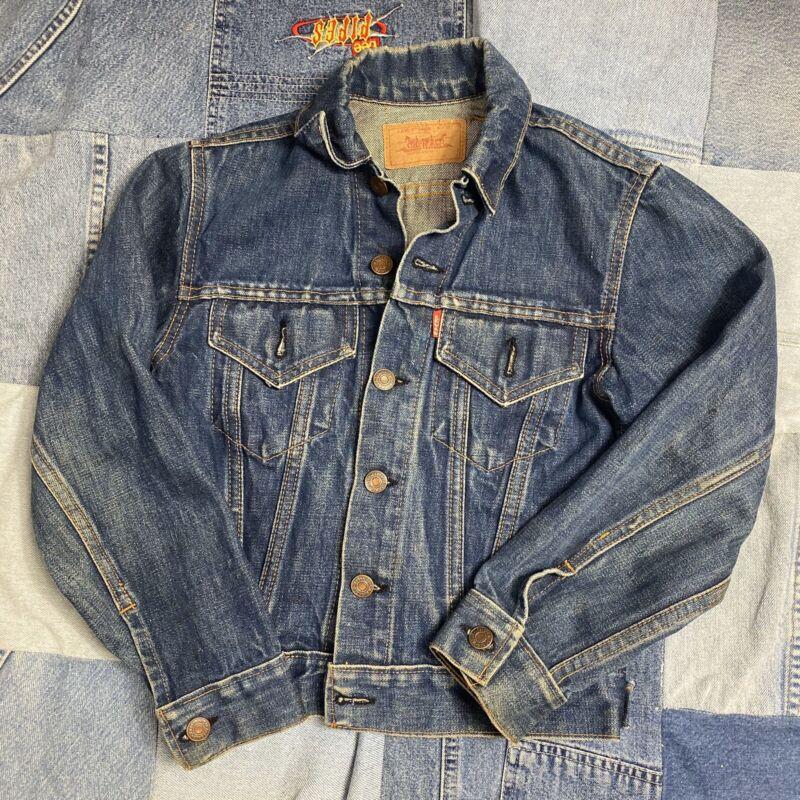 Vintage Kids  Levi's Big E Denim Jacket Made In USA