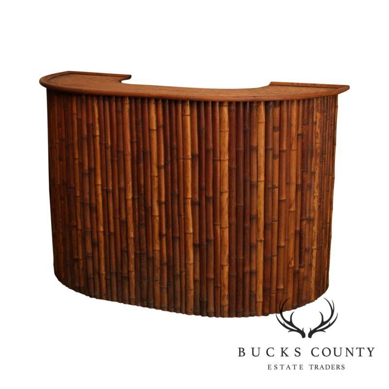 Vintage Bamboo Tiki Bar