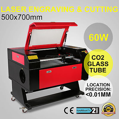 60w CO2 Lasergraviermaschine Gravurmaschine Carving Gravur Lasergravur cutter