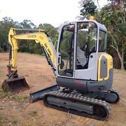 4ton Wacker Excavator Svensson Heights Bundaberg City Preview