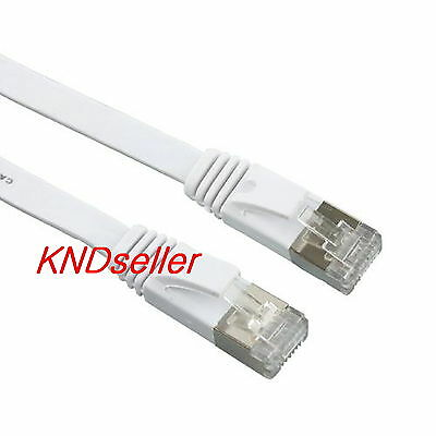 10m 30ft  CAT 7 SSTP LAN Direct Ethernet Cable  Network Patch Shielded 10Gbps