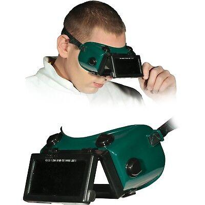 Schweißerbrille Schweißerschutzbrille Schutzbrille Top Qualität Grün REC NEU OVP