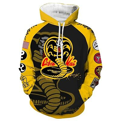 The Karate Kid Cobra Kai   Jacket Hoodie 3D Animation Clothes Cosplay Coat](The Karate Kid Costume)