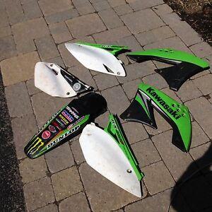 Kawasaki kx 450 f plastics