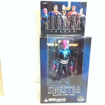 SINESTRO ALEX ROSS JUSTICE LEAGUE ACTION FIGURE DC DIRECT SERIES 1 2005
