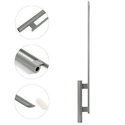 Ground Spike Mount Stake For Feather Flutter Swooper Banner Flag Pole New