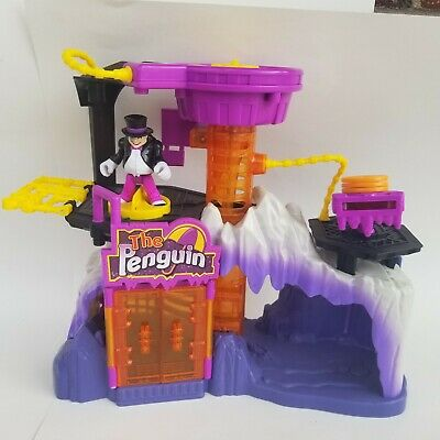 Fisher Price Imaginext DC Super Friends THE PENGUIN Headquarters with Figure