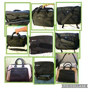 NEW- BLACK Messenger Bags or laptop bags - EUC