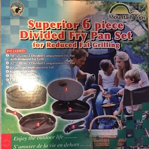 Camp cook set brand new in box frying pans