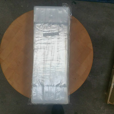 500 Clear Poly Bags 8x24