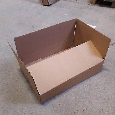 Single Wall Plain Brown White Corrugated Cardboard Postal Mailing Boxes