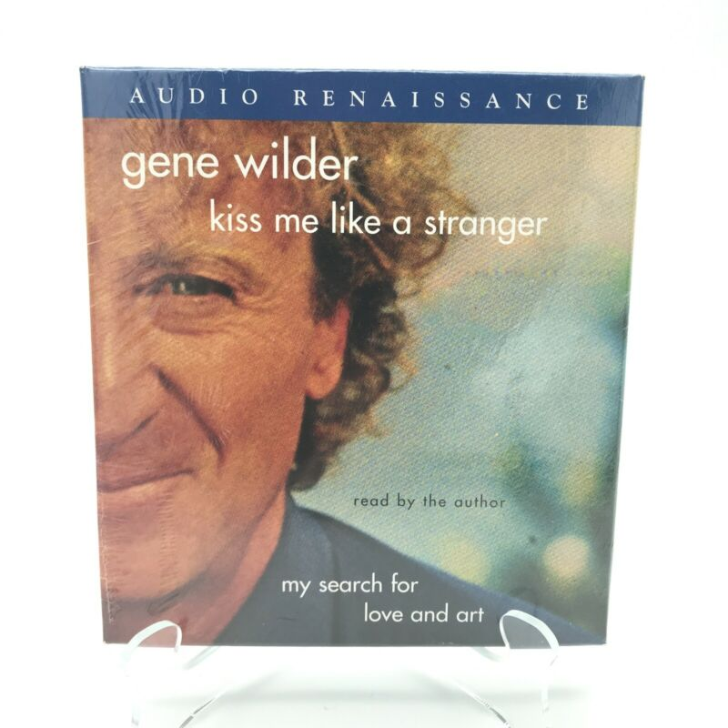 Gene Wilder -Kiss Me Like a Stranger: My Search for Love and Art,6 CDs Biography