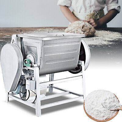 110v Electric Commercial Double Speed Spiral Dough Mixer Flour Mixing Machine