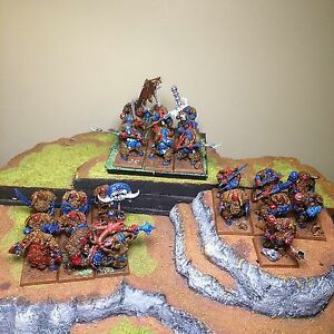 Selling Warhammer Ogre Kingdom Converted Army  Windsor Region Ontario image 1