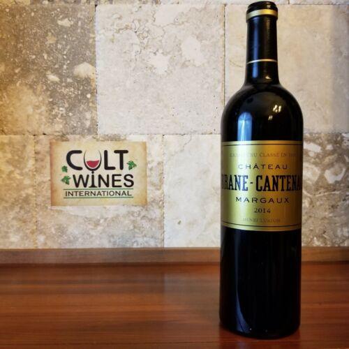 WE 95 pts! 2014 Chateau Brane Cantenac Bordeaux wine, Margaux