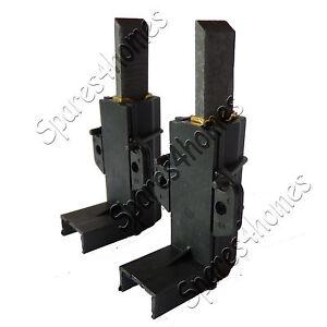 PAIR BEKO WASHING MACHINE CARBON BRUSHES AND HOLDERS WM5120S, WM5120W, WM5140W