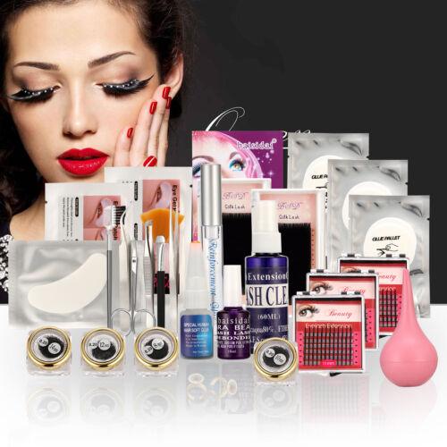 25 Pcs Kit False Eye Lashes Eyelash Extension Glue Removal T