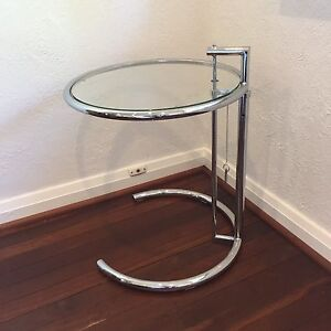 Replica Eileen Gray Glass Side Table Mount Hawthorn Vincent Area Preview