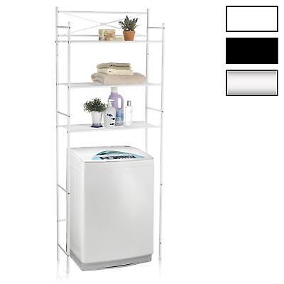 Toilettenregal Waschmaschinenregal Badezimmer Bad WC Allzweck Stand Regal