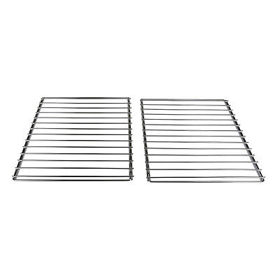 2 x BBQ Grill Oven Shelf Rack Extendable Screw Fix Adjustable Arms Barbecue Grid