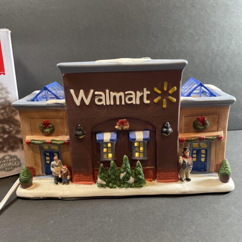 Holiday Time Walmart Supercenter Store Vintage Victorian 2018 Christmas Village