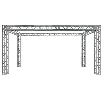 Global Truss Tb-10x20 Square Trade Show Booth With Ujb Corners F34-002