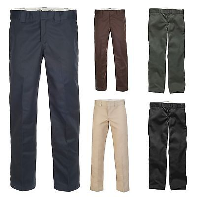 Dickies - Original 873® Slim Straight Work Pant Feizeit chino Arbeit Herren Hose Original Chino