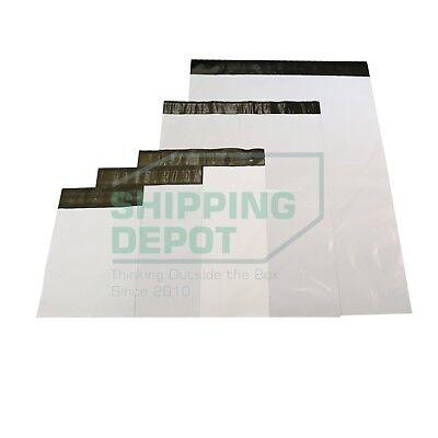 1-5000 Poly Mailers 2.4mil 6x9 7.5x10.5 9x12 10x13 12x15.5 14.5x19 19x24 24x24