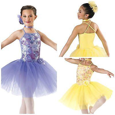 NEW 'Carnival Waltz' Ballet Lyrical Ice Skating Dance Competition Costume - Waltz Dance Kostüm