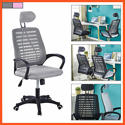 Ergonomic Office Chair High Back Executive Computer Desk Mesh Chair Home Stool
