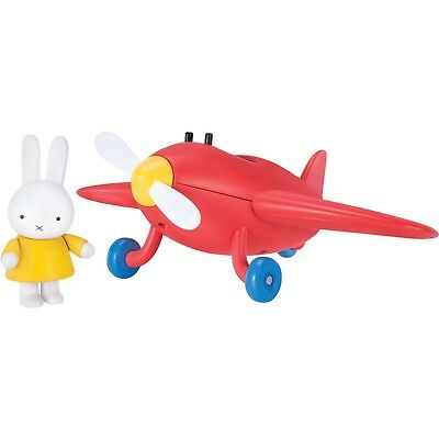 Miffy's Adventures Big and Small Miffy Little Red Plane Airplane & Figure NEW