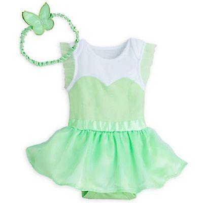 Disney Store Tinkerbell Fairy Princess Dress Baby Bodysuit C