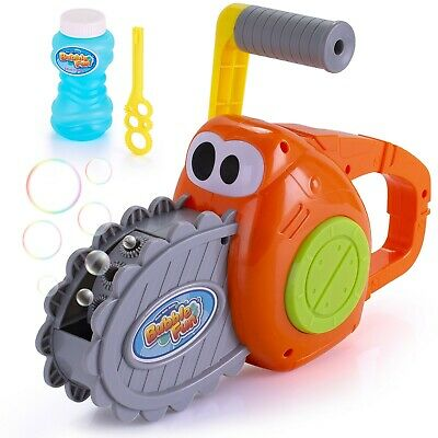 Bubble Maker Gun for Kids Outdoor Chainsaw Bubble Blower Machine](Bubble Machine For Kids)