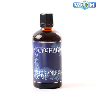 Champagne 100ml Fragrance Oil for Soap, Bath Bombs (FO100CHAM)