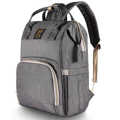 Gimars Diaper Bag Backpack, Large Capacity Travel Baby Backpack Bags Multi-Func