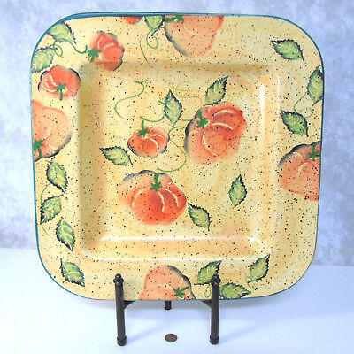 16' Large Square Platter - NEW CIC Italy 16