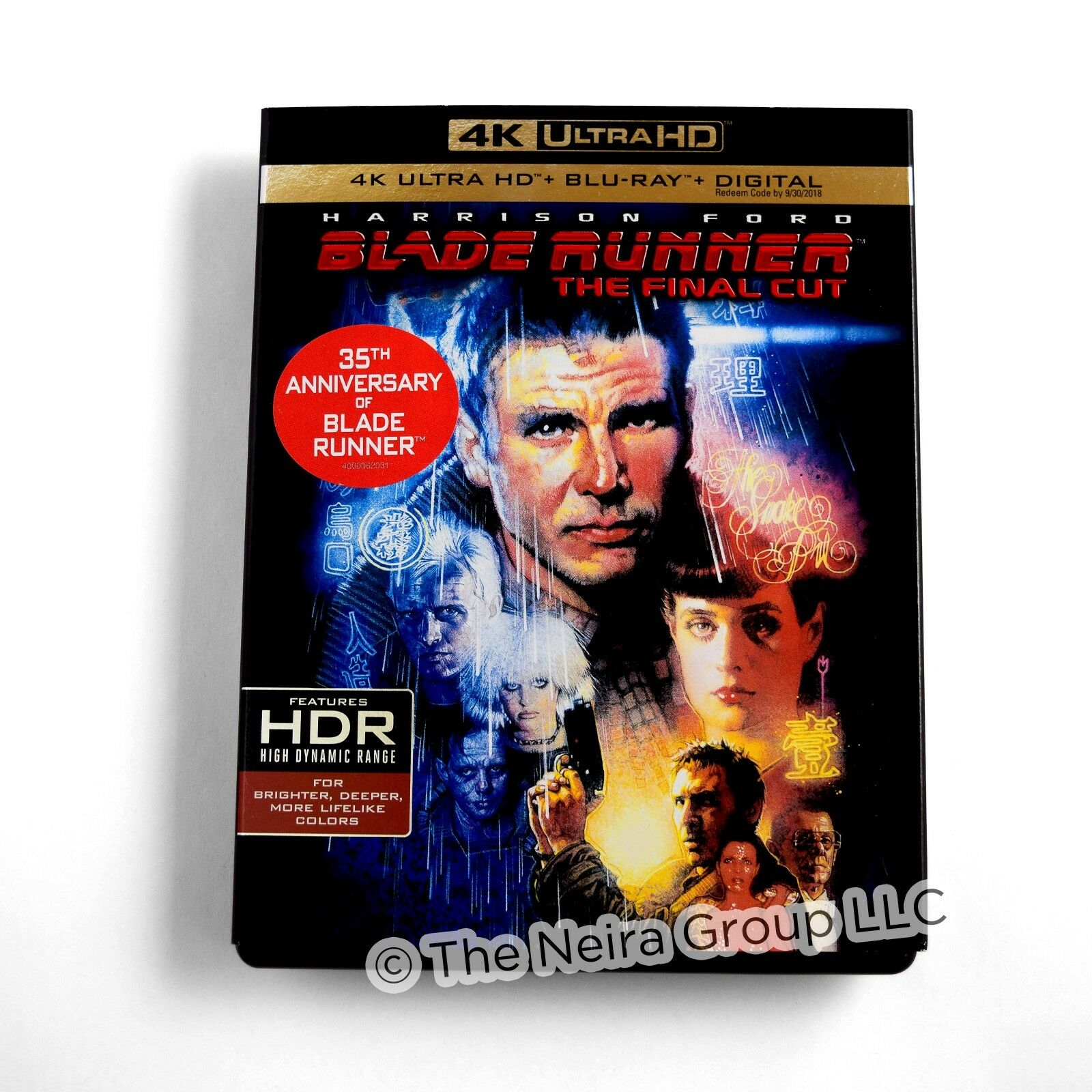 Blade Runner The Final Cut 4K Blu ray Digital HD New Harrison Ford with Slipcase