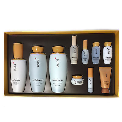 Sulwhasoo Essential Balancing Water+Emulsion+First Care Serum Set Korea